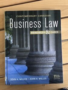 Canadian Contemporary Business Law 11th edition