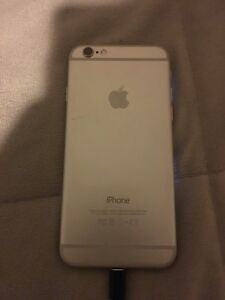 Silver iPhone 6. 16GB rogers
