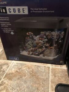 14 gal biocube complete with heater
