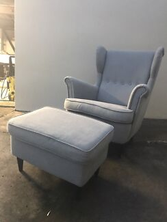 Chair and ottoman! SOLD PENDING PICK UP