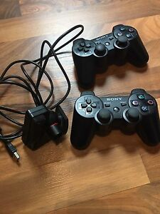 PS3 controllers and camera