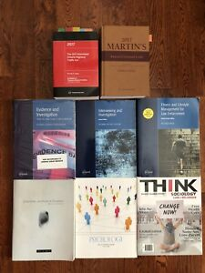 Police Foundations 2017 Textbooks for Year 1 and Year 2