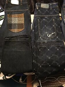 Authentic Brand name jeans!!! Karl Kani, G-unit and shady gear!