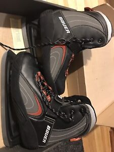 Patin glace Bauer homme comme neuf
