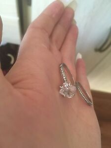 Engagement set - 925 sterling silver  size 8