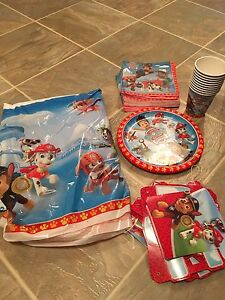 Paw patrol birthday kit