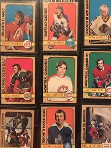 1972 opc vintage hockey cards (Individually Priced)