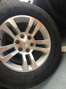 4 BRAND NEW CHEVY TIRES AND RIMS $1000