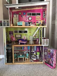 3 Story Dollhouse  with Elevator