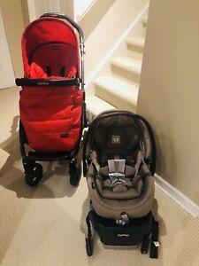 Peg Perego stroller+car seat 4-35