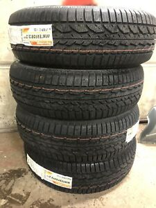 265/65/18 Firestone Winterforce UV2 Tires BRAND NEW