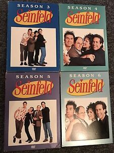 Seinfeld Seasons 3-4-5-6