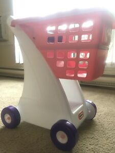 Little tikes pink cart