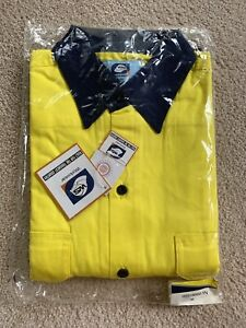 NEW Worksense Long Sleeve Work Shirt  Hi Vis Yellow  Size M (38) Perth Perth City Area Preview