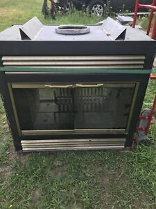 DOUBLE SIDED FIRE PLACE