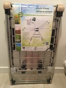 Clothes drying rack - indoor/outdoor drying center