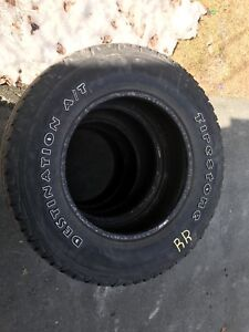Firestone DestinationA/T tires