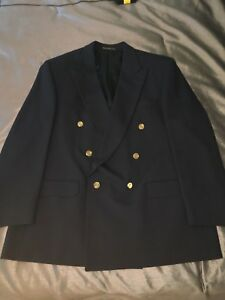 Men's Navy Suit Jacket