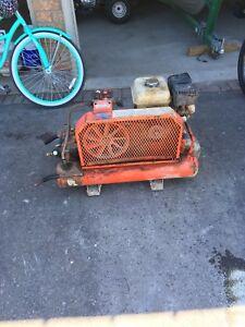 Gas air compressor
