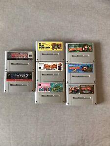 Jeux Super Nintendo Japonais (Super Famicom)