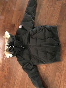 canada goose jacket black