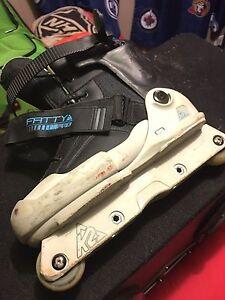K2 fatty pro roller blades