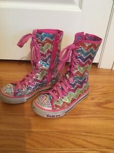 Sketchers twinkle toes shoes size 12