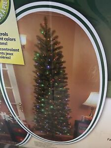 71/2 Foot Pencil Christmas Tree