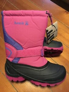Kamik Winter boots - youth size 6 - brand new