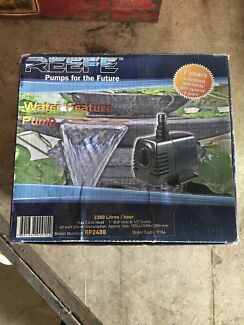 New in box REEFE water feature pond pump see photos for details