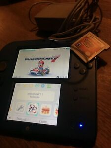 Nintendo 2DS Mario Kart edition + Pokemon Sun