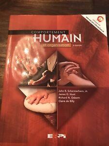 Livre comportement humain et organisation 3e édition