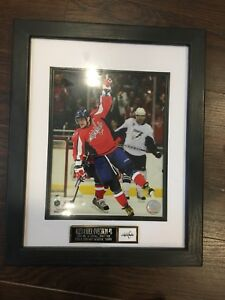 Framed 8x10 Alexander Ovechkin picture