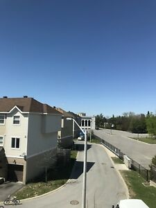3 Bedroom End unit Townhome with 3 Parking spaces avail. Sept 1