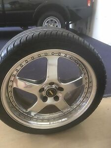 Simmons fr19 wheels and tyres Clontarf Redcliffe Area Preview