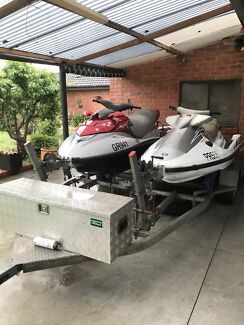 JetSkis and Trailor  Vic