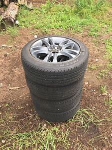 Ingens 195/55R17 tires and rims