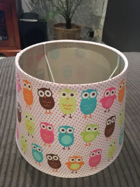 Baby Nursery Bedroom Owl Lamp Shade