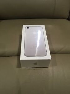 IPhone 7 brand new 32gb silver unlock sealed in the box Prospect Prospect Area Preview