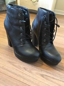 Black Forever 21 boots size 6.5