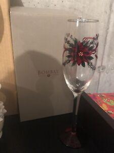 Verres de noël pour vin mousseux, beau cadeau de Noël