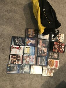 Movies, series, and newish Nike bag