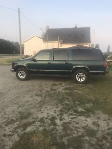 Wanted 96 to 99 Chevy suburban