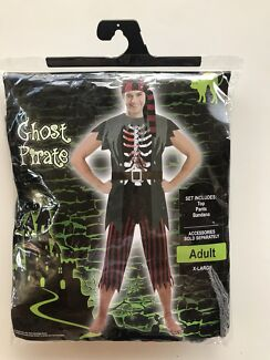 Halloween costume Ghost Pirate Adult X-large