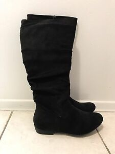 Suede Boots Size 8