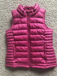 Fall vest for girl
