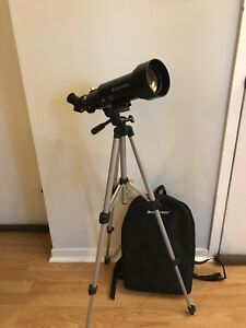 Celestron travel telescope with backpack and accessories