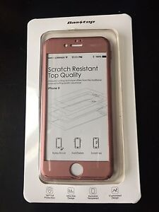 iPhone 6 cover and screen protector