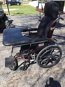 Supertilt wheelchair