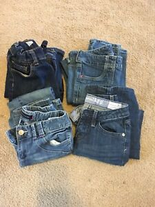 4 pairs of girls Jeans size 8